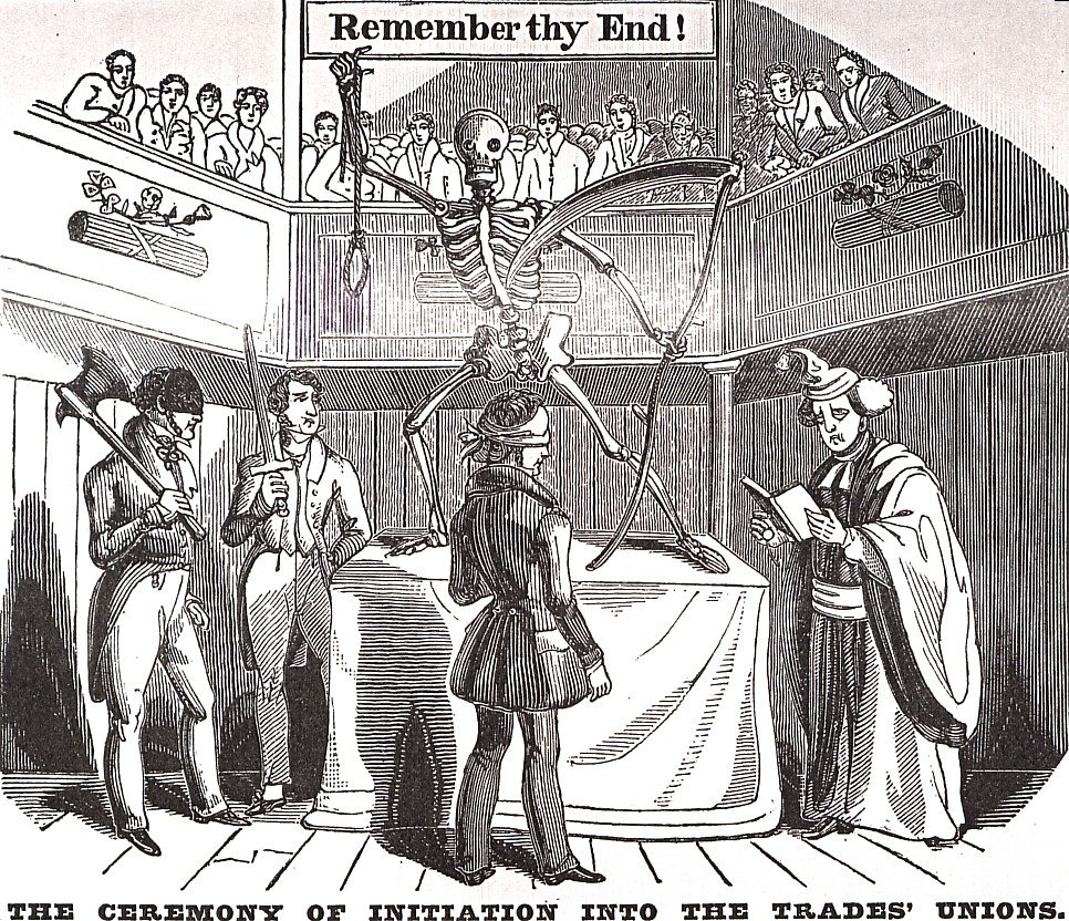 The RISE And FALL Of ENGLISH FREEMASONRY