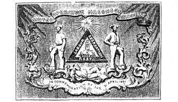 Melbourne United Operative Masons of Melbourne, 1857.