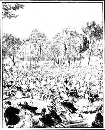 Mid-19th century 'Foresters Fete'.